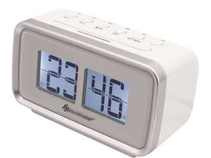 soundmaster UR105 Retro Alarm Clock Radio