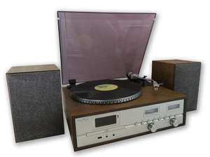 soundmaster PL880 Retro Turntable HiFi System