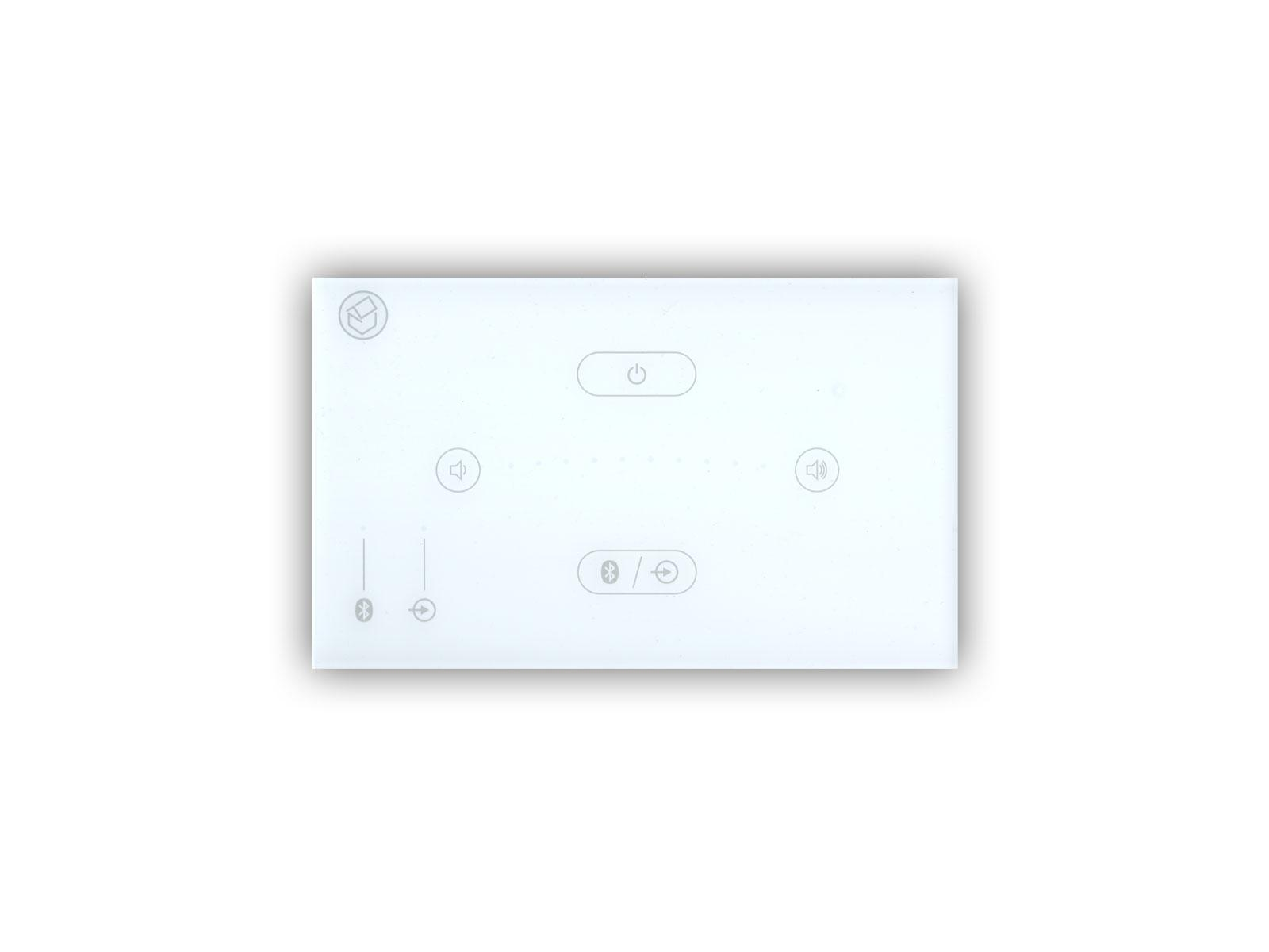Systemline E50 White In-Wall Bluetooth Amplifier
