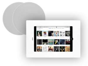 "In Wall Mount for iPad Mini & 6.5"" Qi65CB Ceiling Speakers"