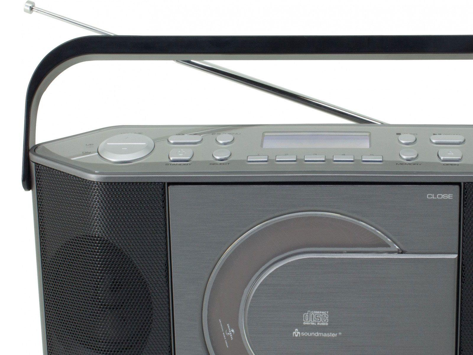 buy soundmaster rcd1770an portable fm dab radio cd player. Black Bedroom Furniture Sets. Home Design Ideas