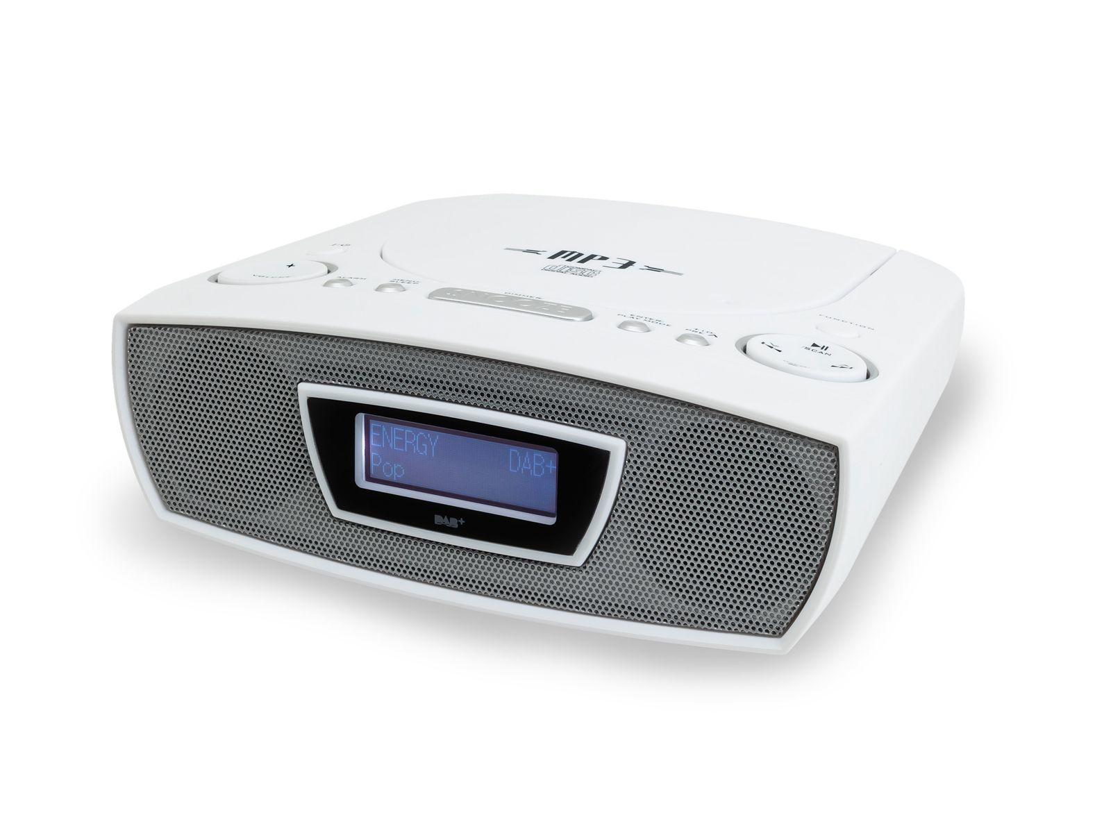 soundmaster URD480 FM / DAB Clock Radio & CD Player