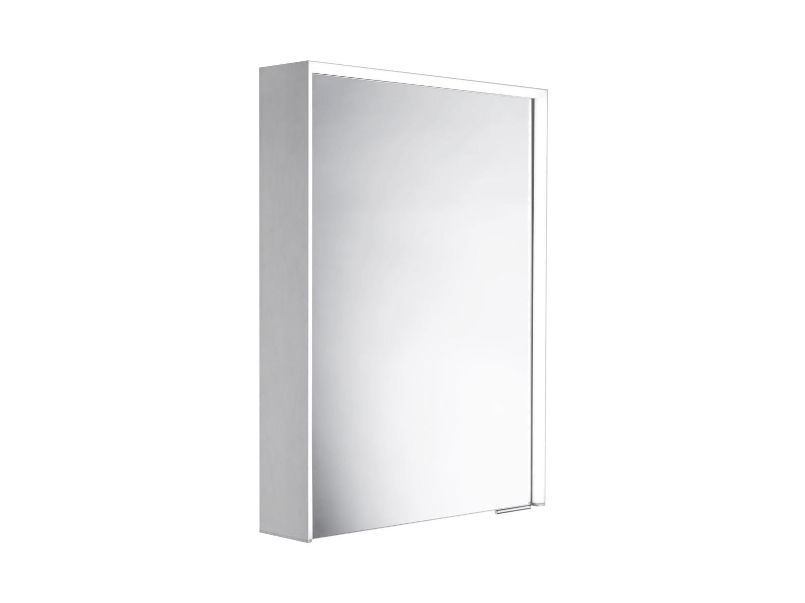 Roper Rhodes Lyric Illuminated Bluetooth Bathroom Mirror Cabinet single door