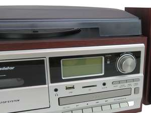 alternate zoom front view of Roadstar HIF-8892EBT HiFi System