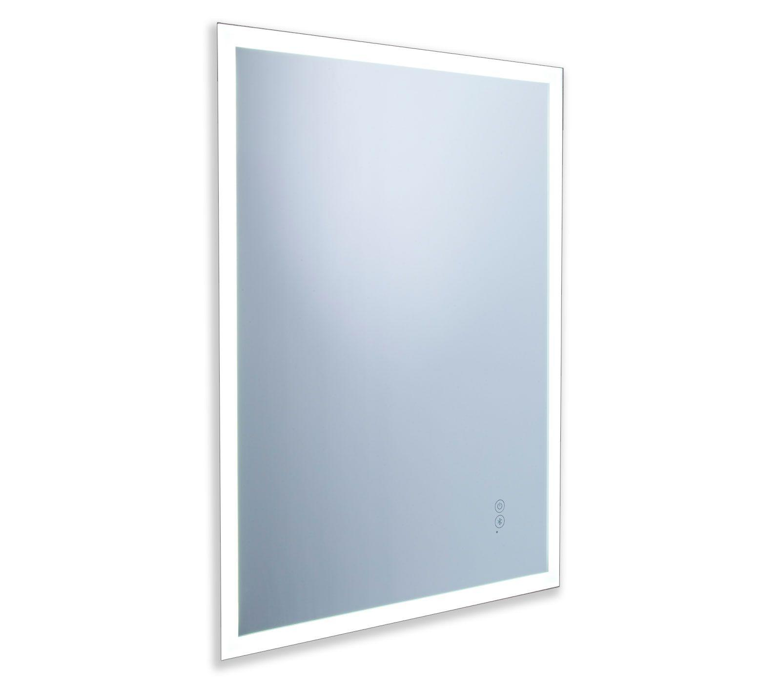 front view of forte Bluetooth mirror