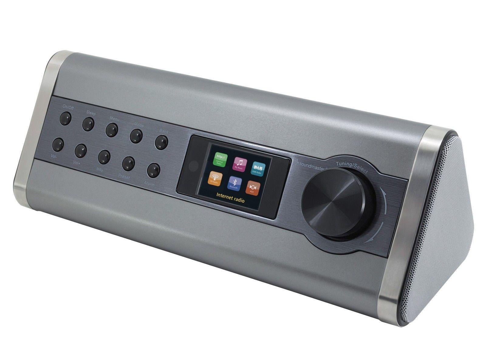 soundmaster ir3200 bluetooth speaker with fm dab. Black Bedroom Furniture Sets. Home Design Ideas