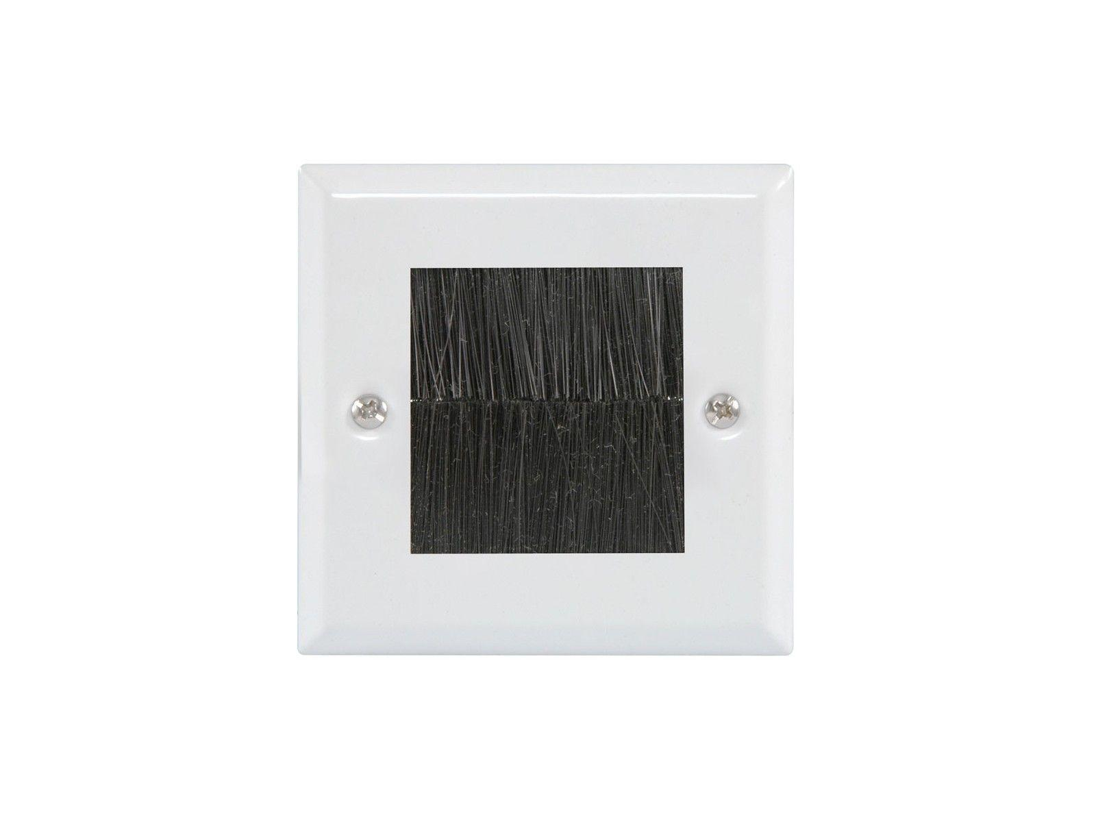 Single Gang Brush Wall Plate