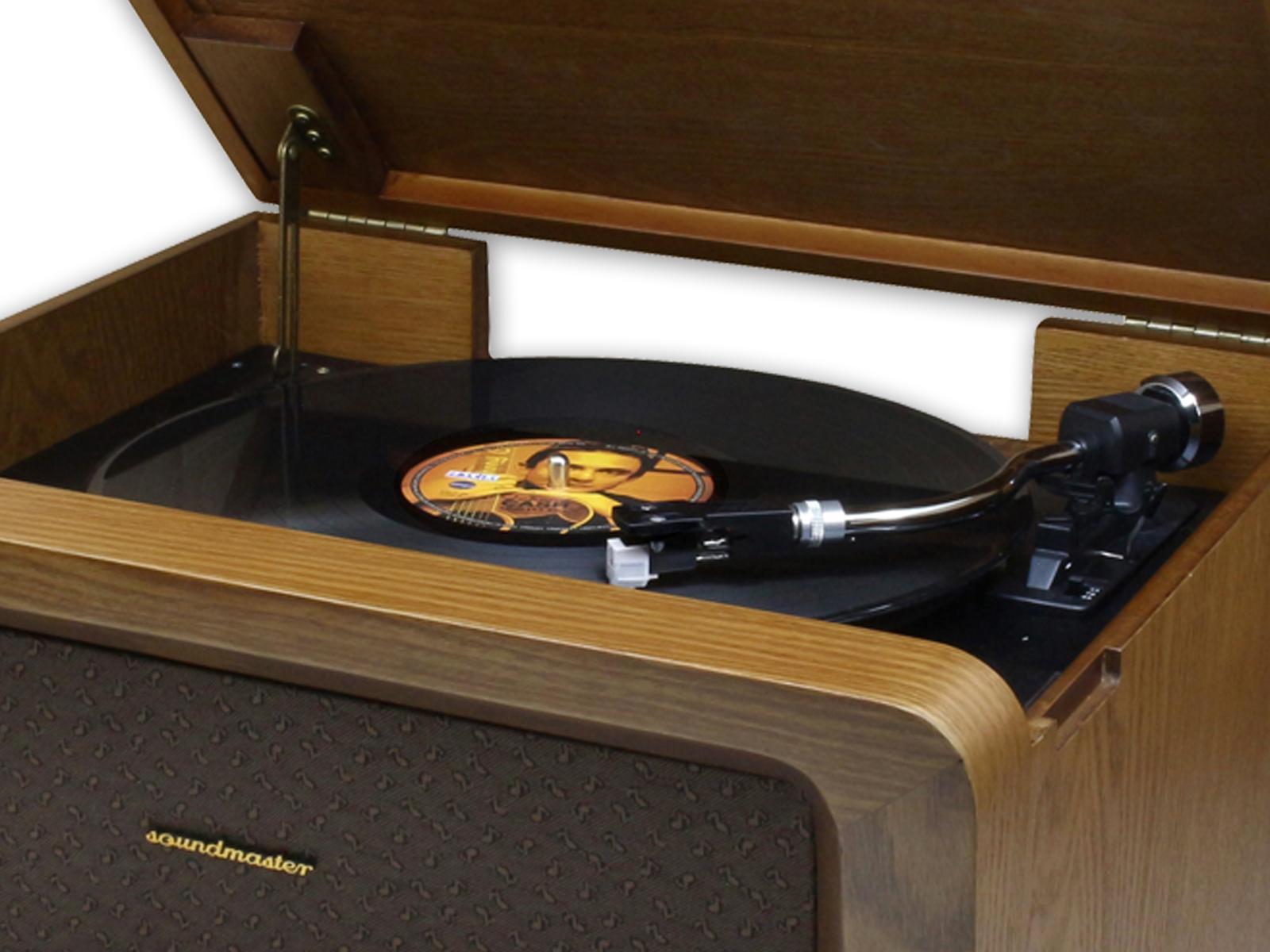 Buy Soundmaster Nr50 Bluetooth Radio Cd Amp Record Player