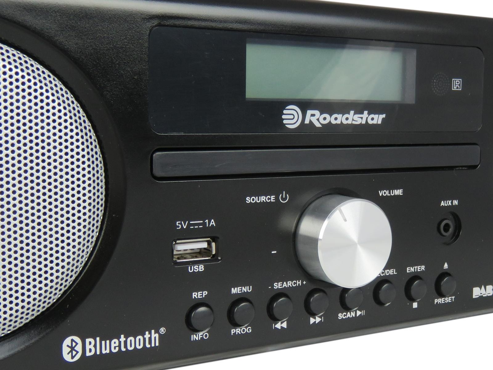 Roadstar Hra 9d Bt Bluetooth Speaker With Fm Dab Radio