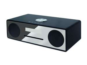 Angled view of soundmaster DAB950CA DAB Radio HiFi System with Bluetooth