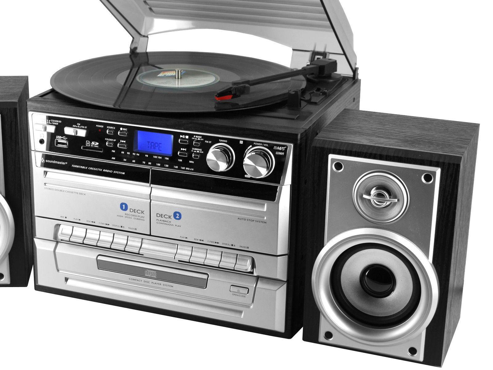 Buy Soundmaster Mcd4500usb Cd Radio Amp Record Player Hifi