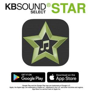 The KB Sound Select Star Remote Control is a remote control intended for use with the KB Sound Select Star - it cannot be used with other KB Sound products.