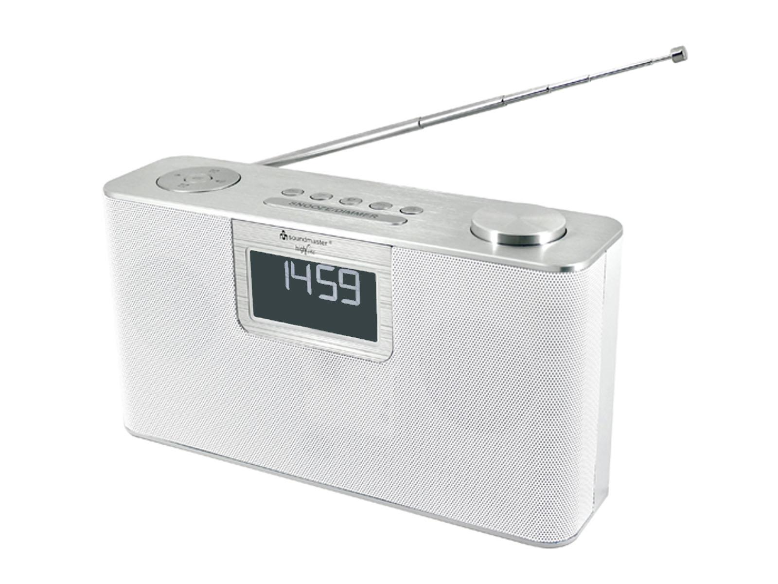soundmaster DAB700WE Portable FM / DAB Radio with Bluetooth