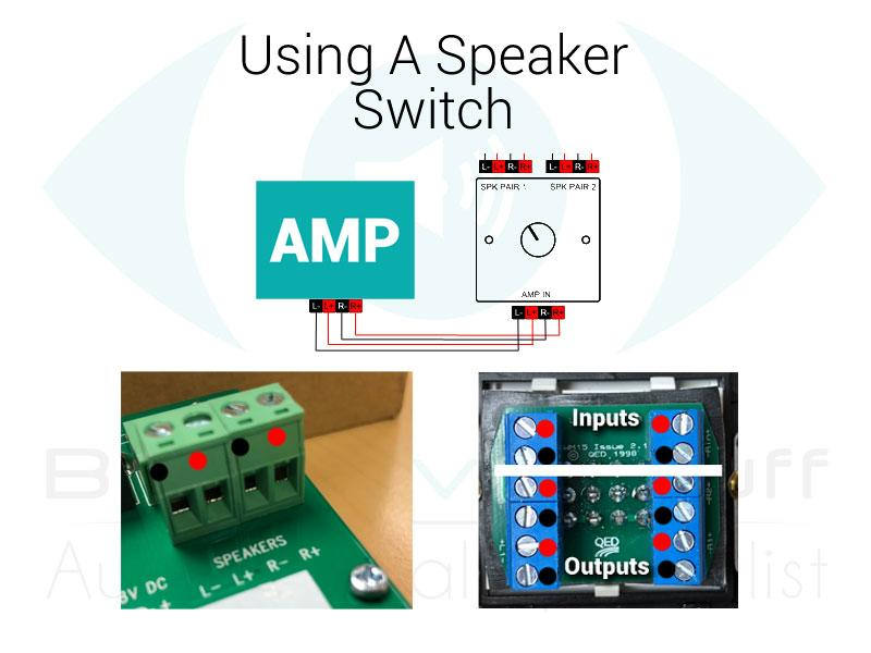 four speaker with switch wiring diagram