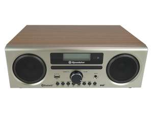 Roadstar HRA-9D+BT front in white ash wood