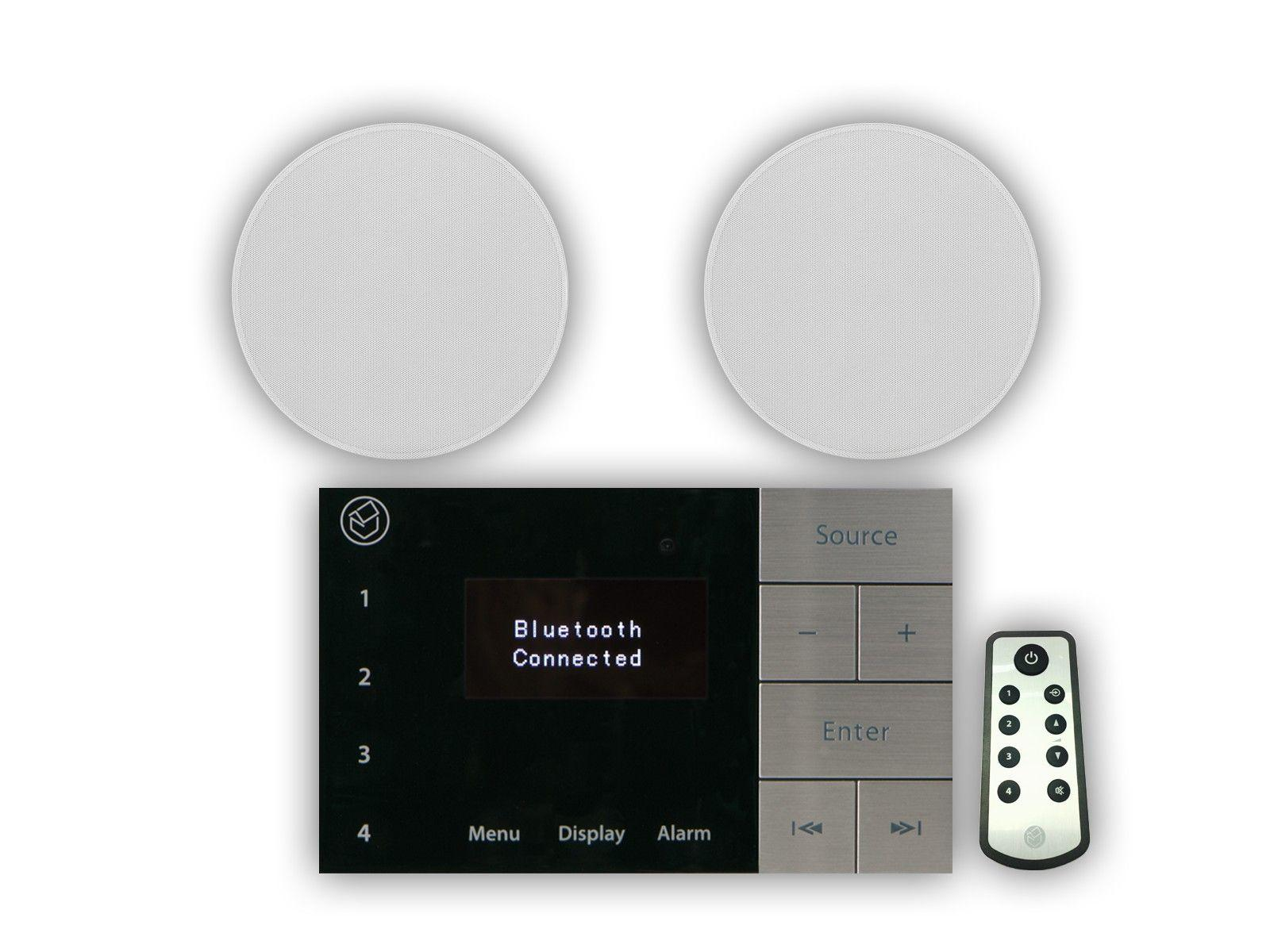 "Systemline E100 & 5"" Qi50CW Ceiling Speakers"