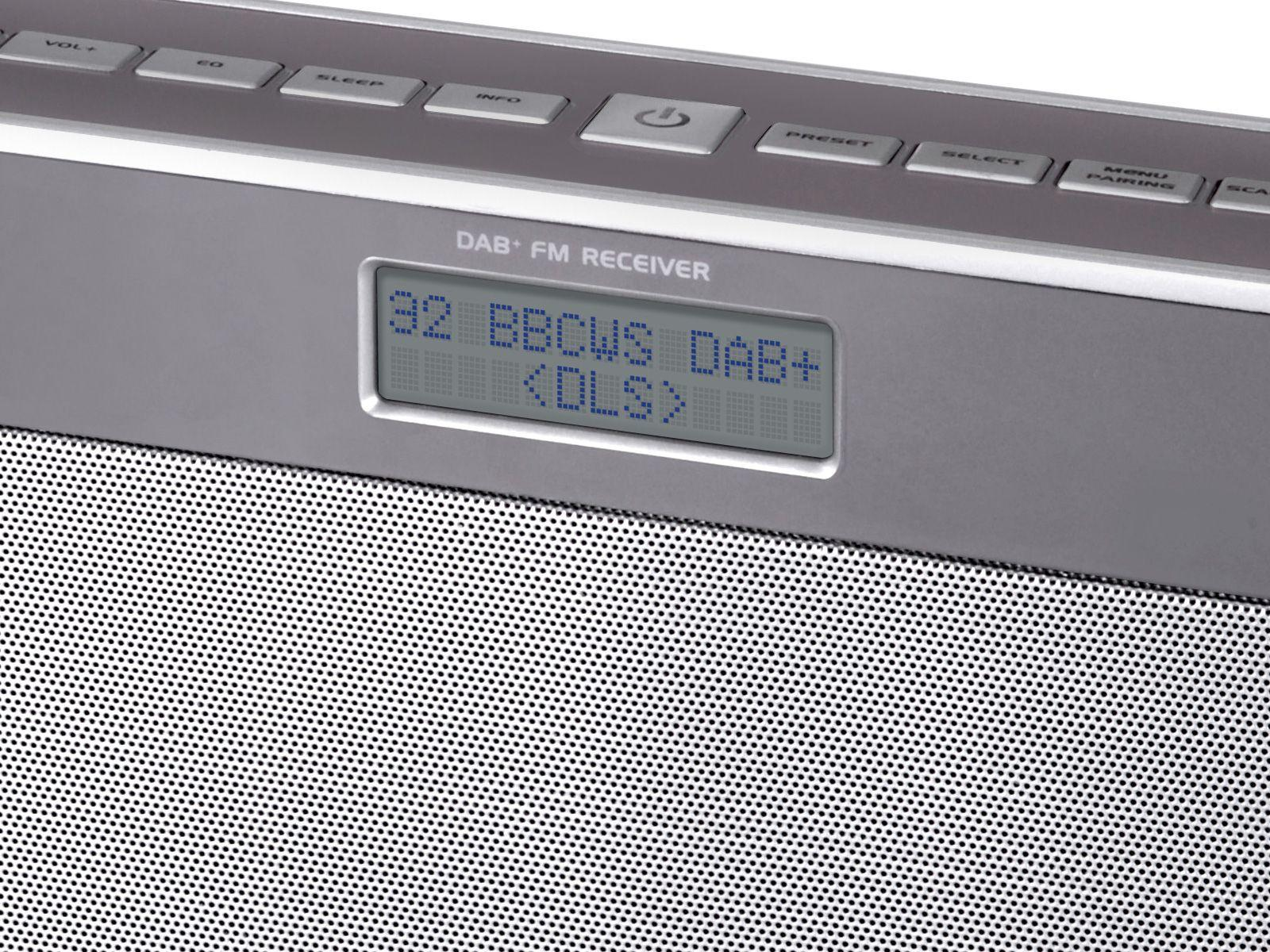 Buy Soundmaster Dab750si Rechargeable Bluetooth Fm Dab Radio