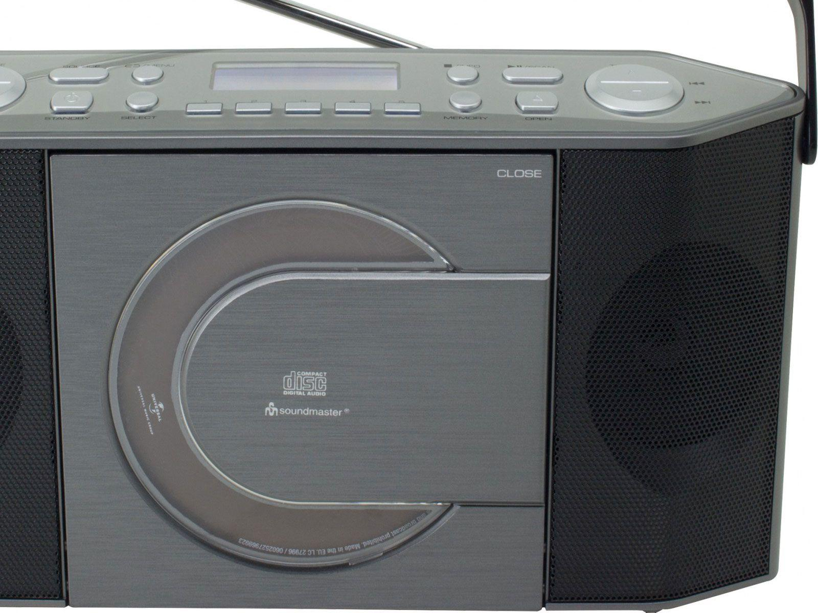 Buy Soundmaster Rcd1770an Portable Fm Dab Radio Amp Cd Player