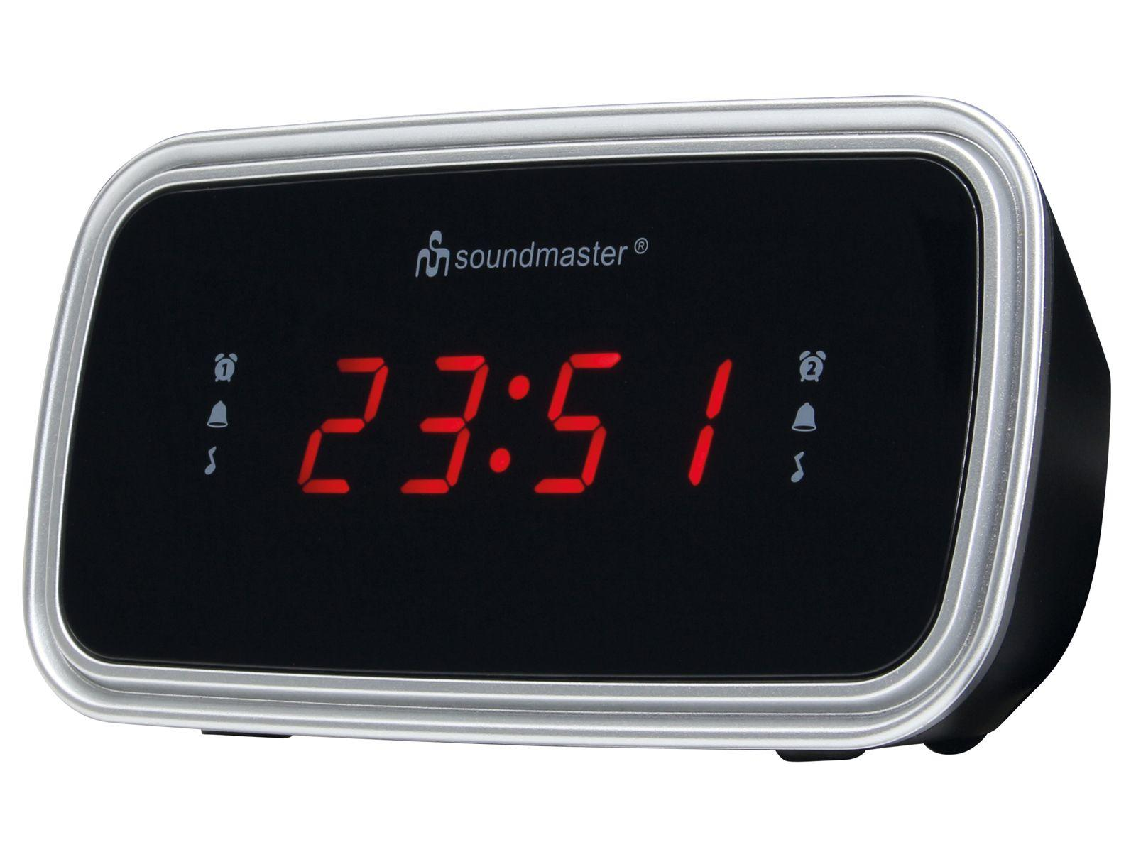 soundmaster UR106 Alarm Clock Radio