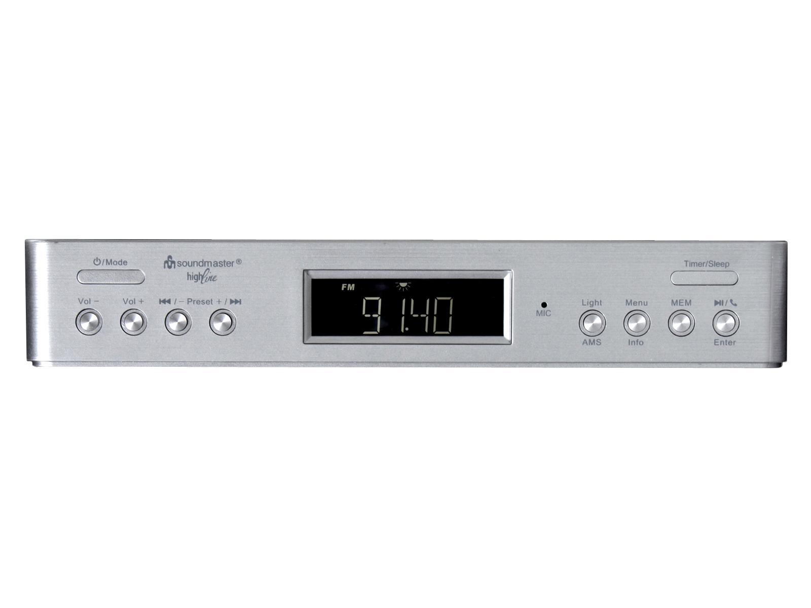 Buy soundmaster UR2045SI Bluetooth Under Cabinet Kitchen ...