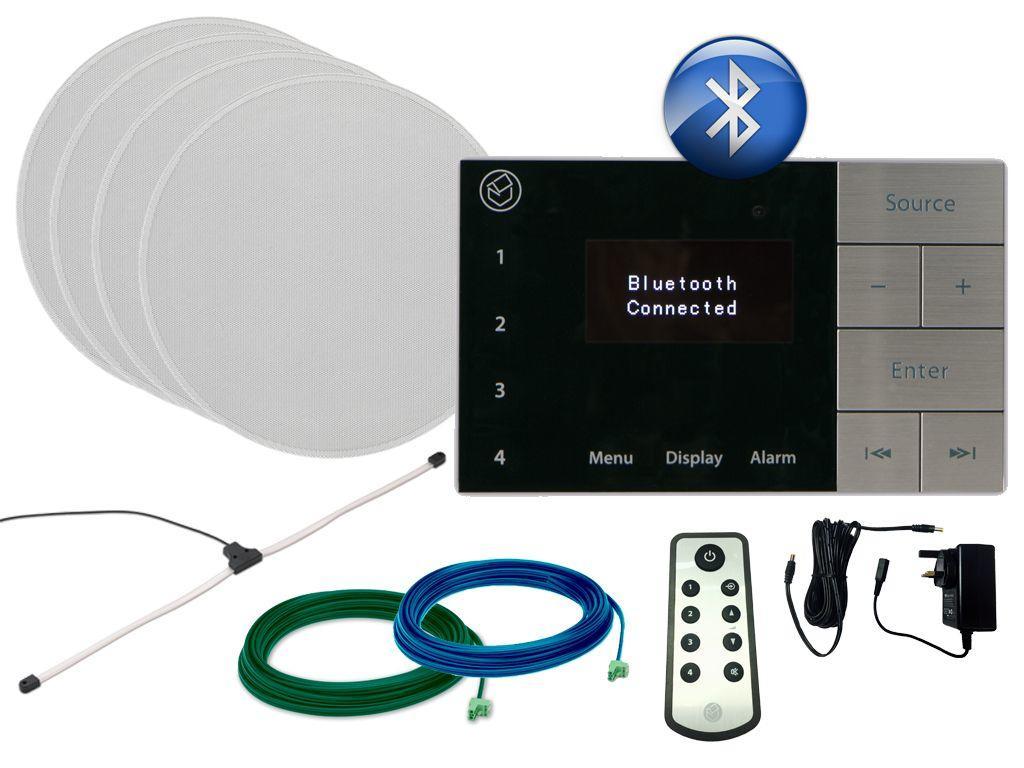 Buy Systemline E100 Amp 6 5 Quot Qi65c Ceiling Speakers