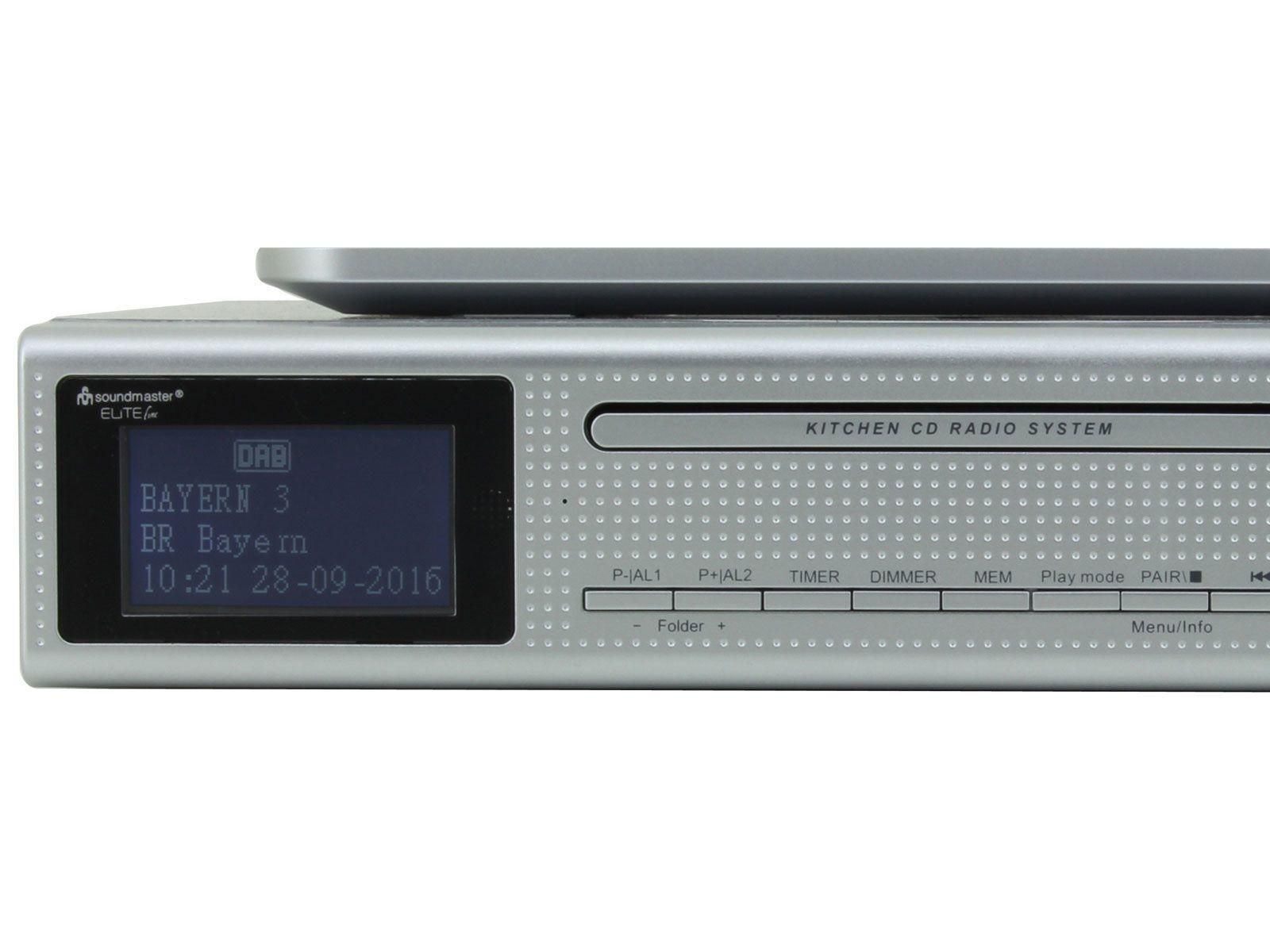 Buy Soundmaster Ur2195si Under Cabinet Kitchen Radio