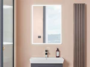 fable mirror in bathroom front view