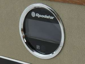Roadstar HRA-1782ND+BT zoom of lcd display
