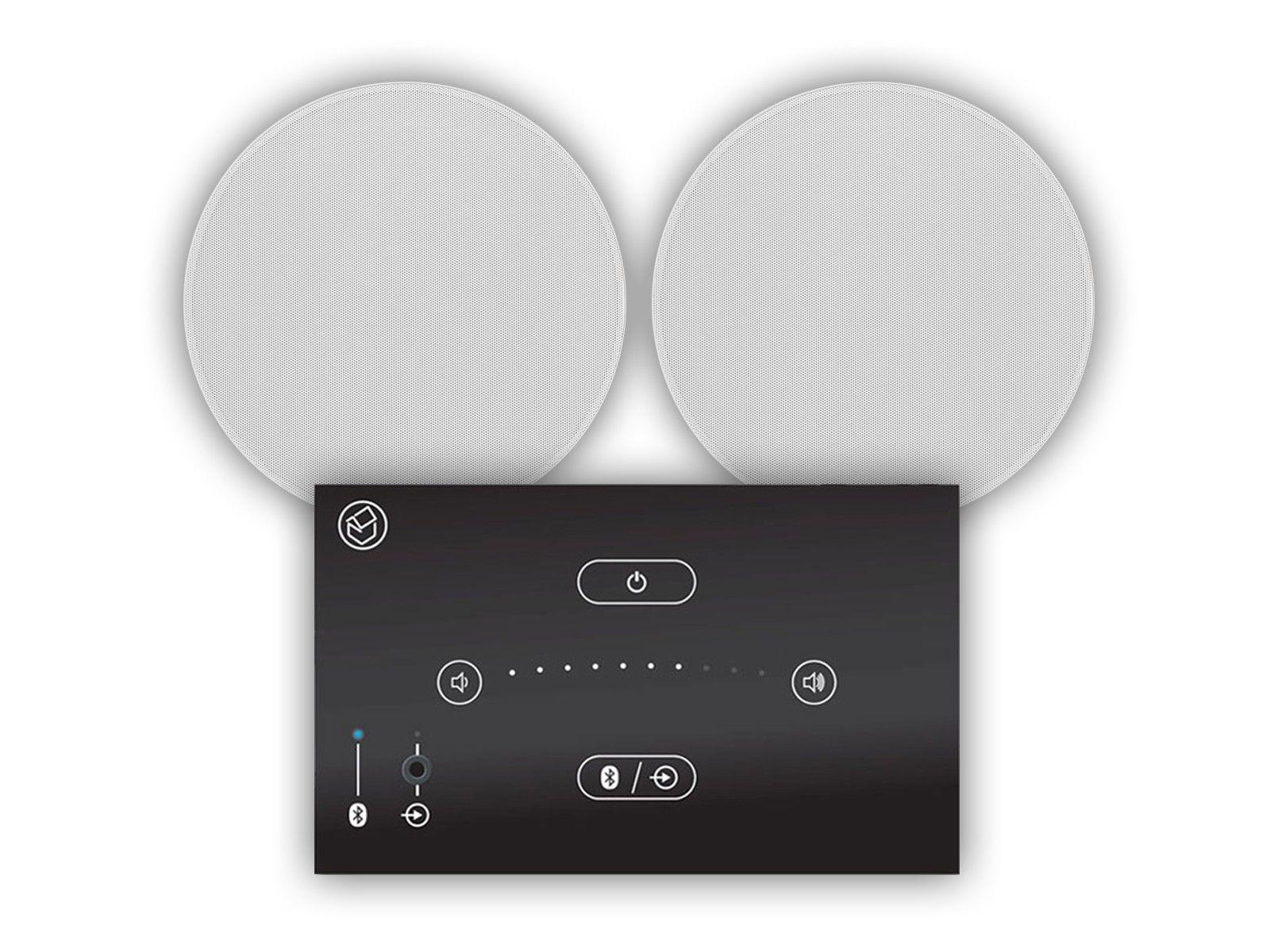"Systemline E50 & 6.5"" Qi65CB Ceiling Speakers"