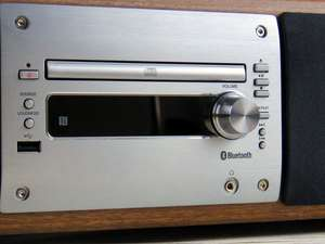 Zoomed in shot of soundmaster DAB1000 DAB HiFi System with Bluetooth & CD Player