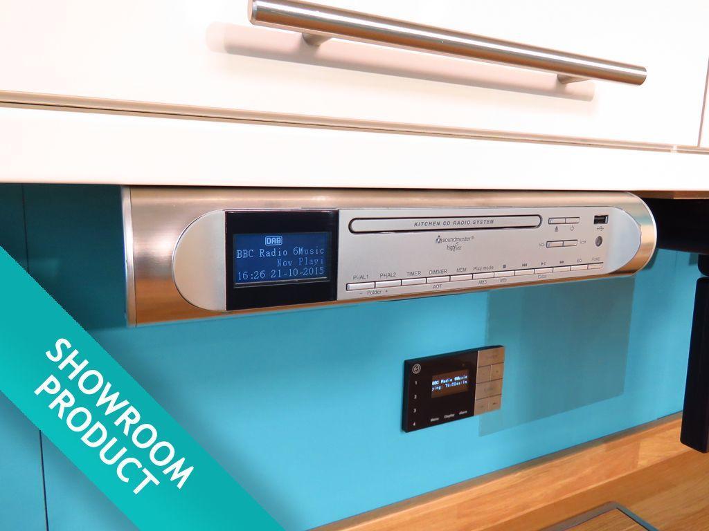 Soundmaster Ur2170si Under Cabinet Kitchen Fm Dab Radio