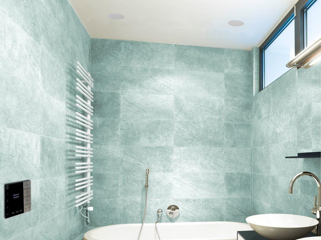 "Buy Systemline E100 & 5"" Qi50CW Bathroom Ceiling Speakers"