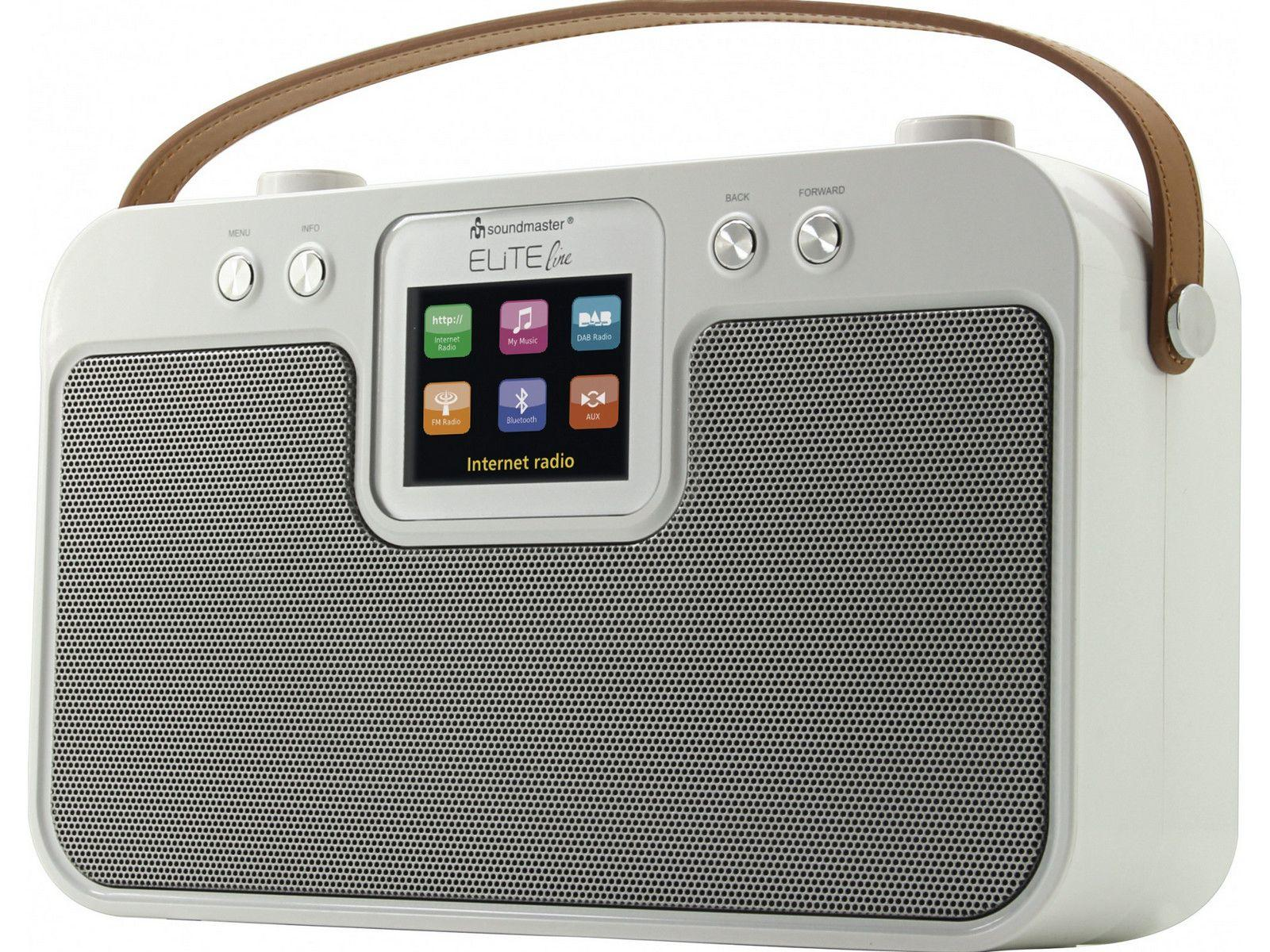 soundmaster IR4400 Multiroom Bluetooth FM / DAB / Internet Radio