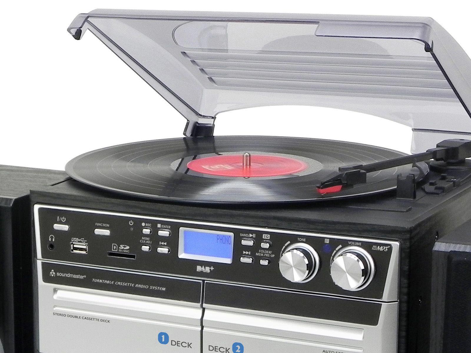 Buy Soundmaster Mcd5500 Cd Radio Tape Amp Record Player