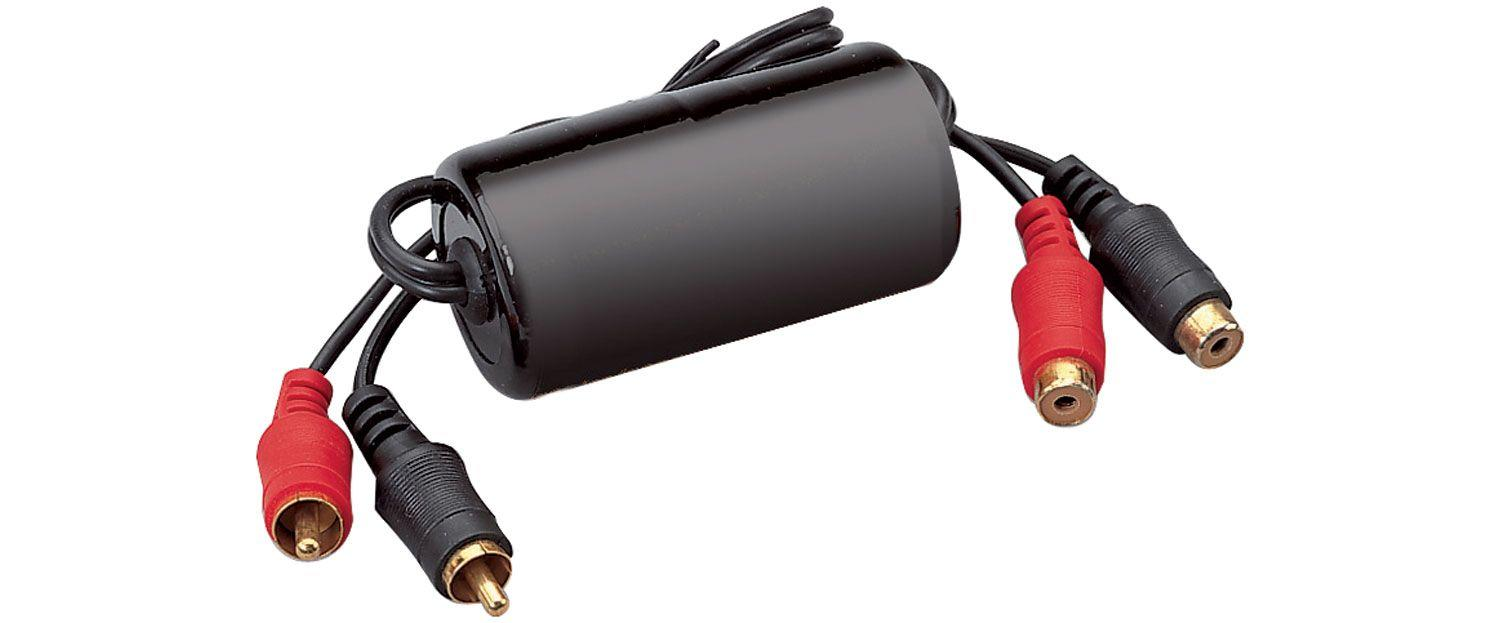 RCA Phono Male to Female Ground Loop Isolator