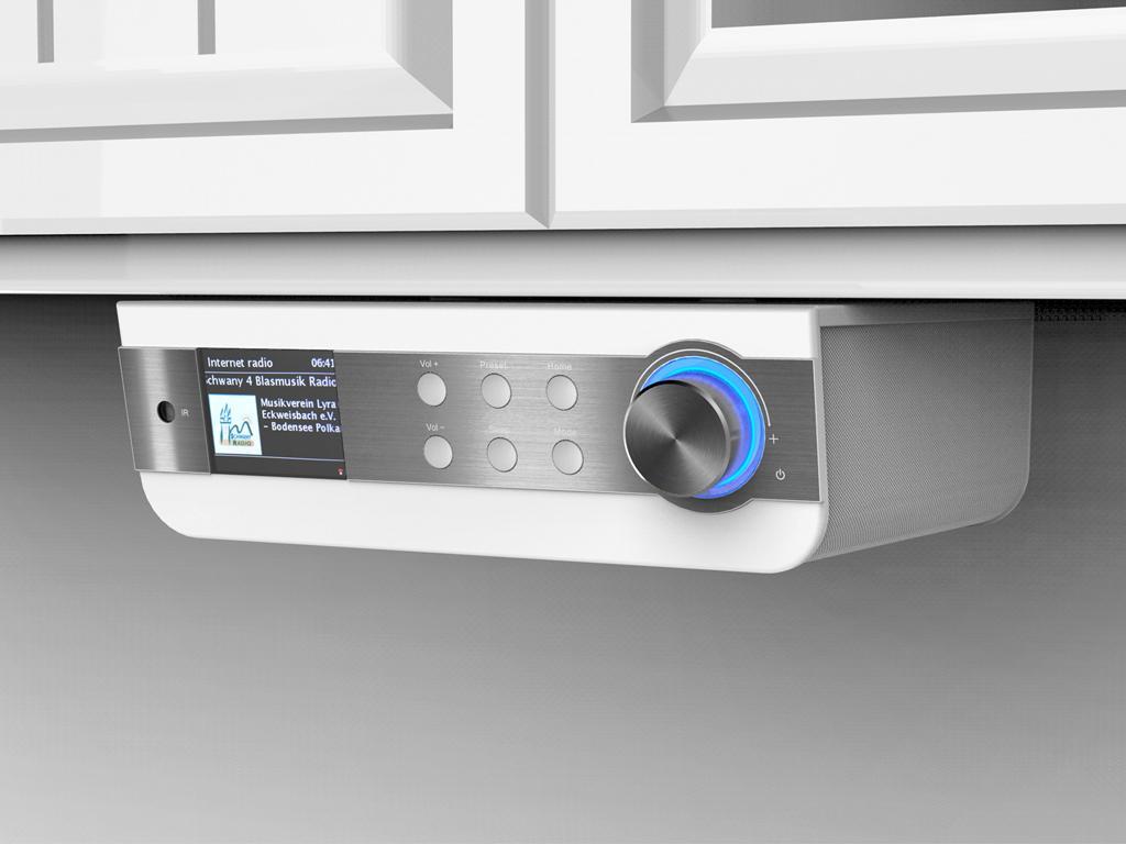 Buy soundmaster IR1450WE Under Cabinet Kitchen Internet Radio