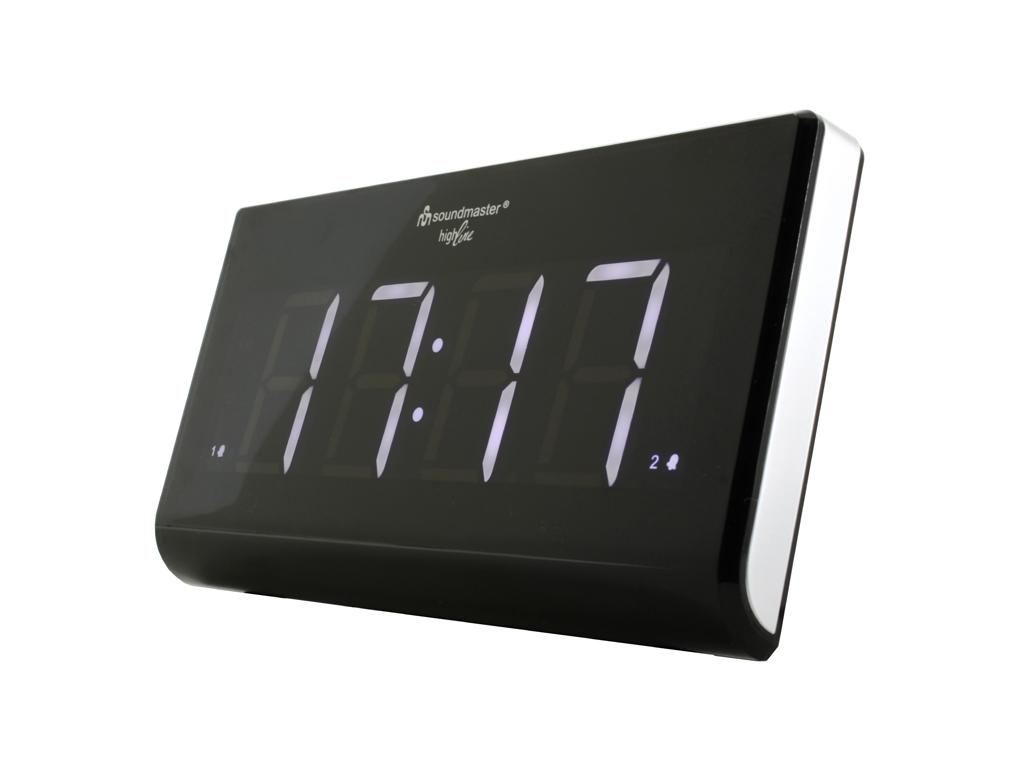 soundmaster UR8400 Alarm Clock with FM Radio