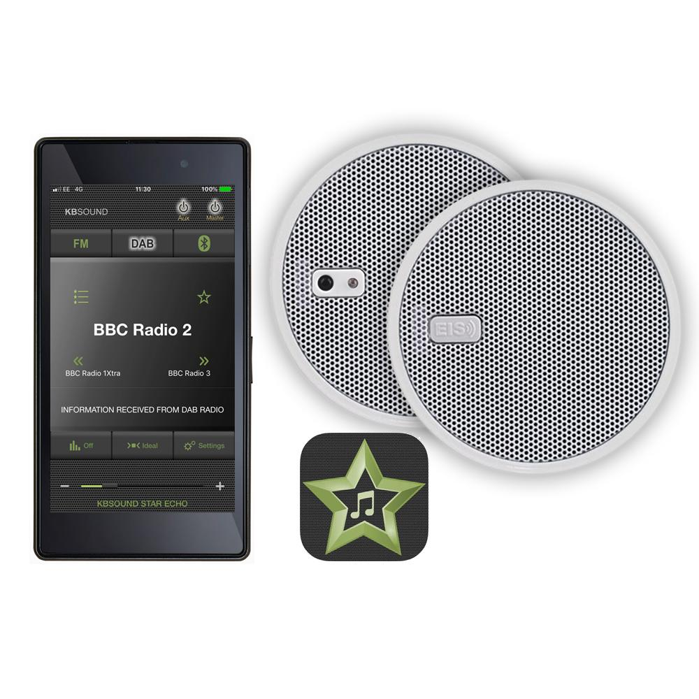 kb sound select star 5 inch speaker system