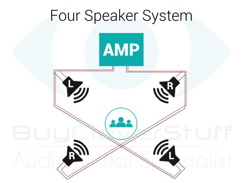 four speaker wiring diagram