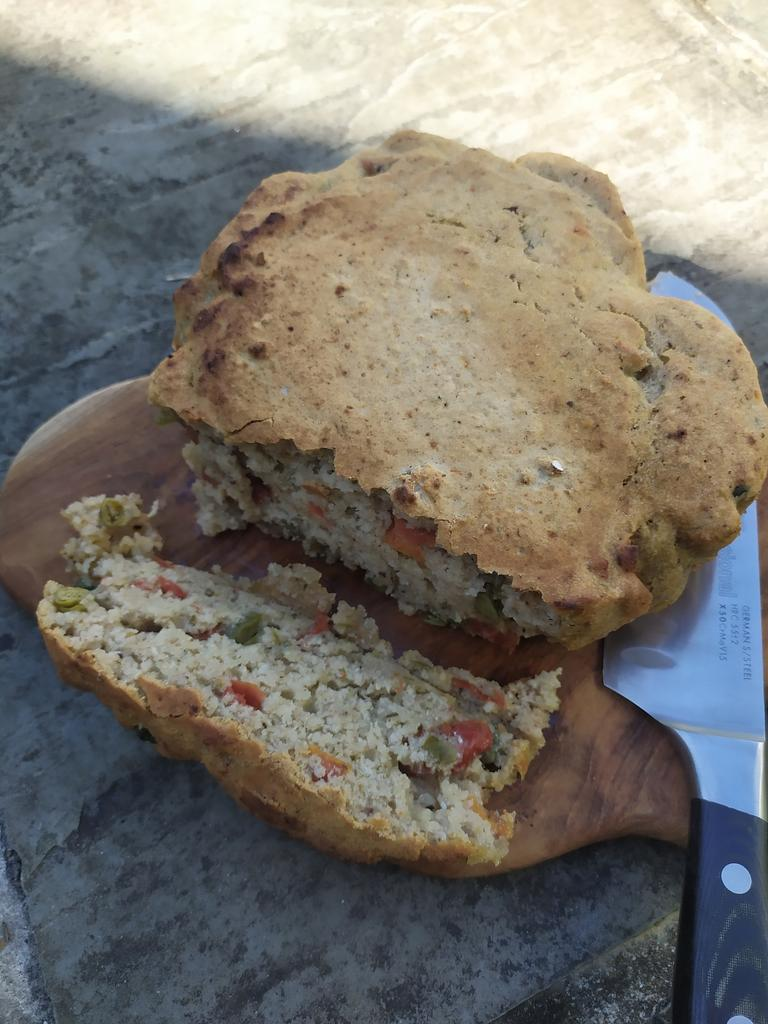 CBD Caper & Sun Dried Tomato Groat Bread