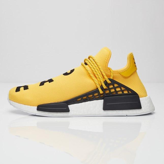 b25e61b88 Pharrell x adidas NMD HU Race  Yellow