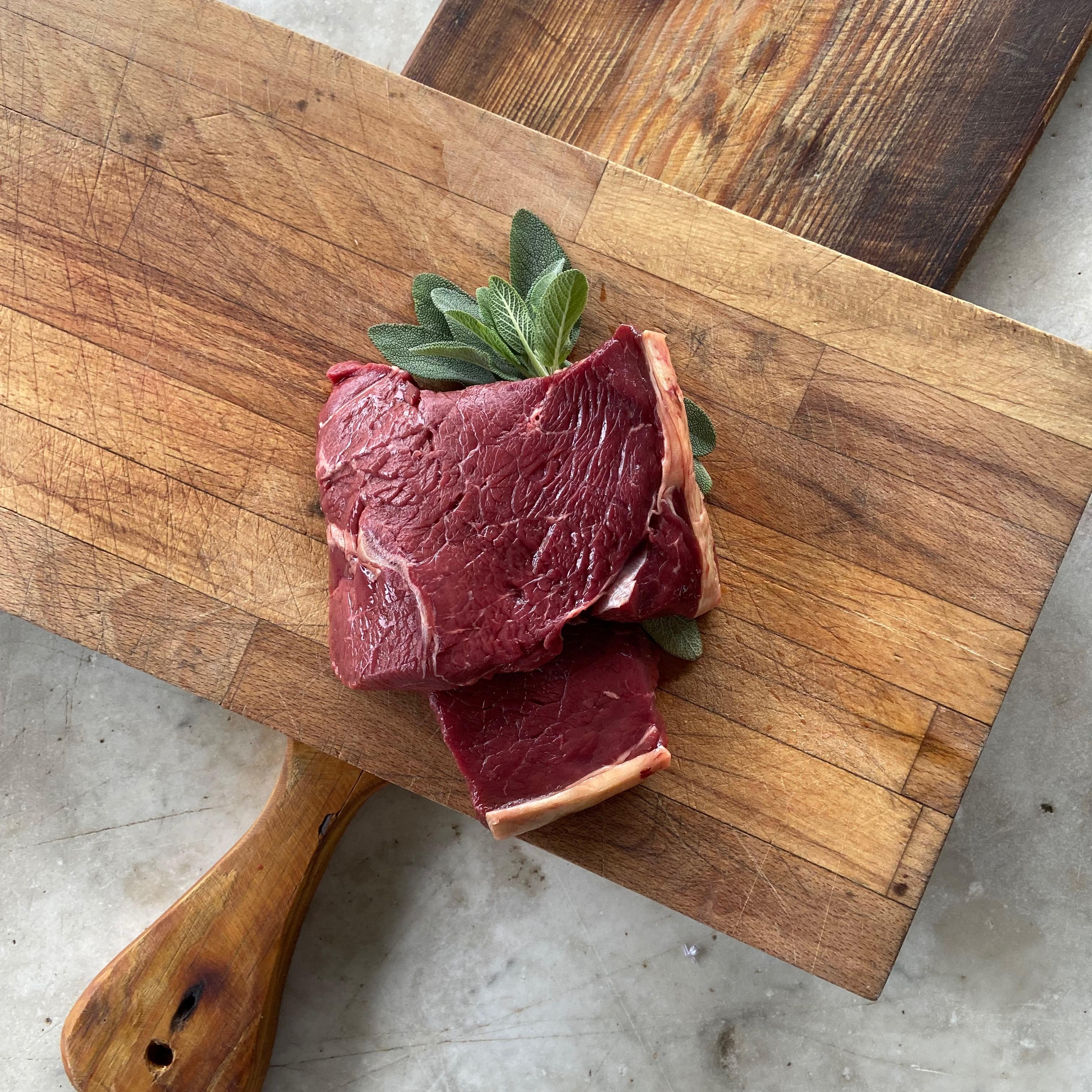 Organic, 100% grass fed steak box, rump steak