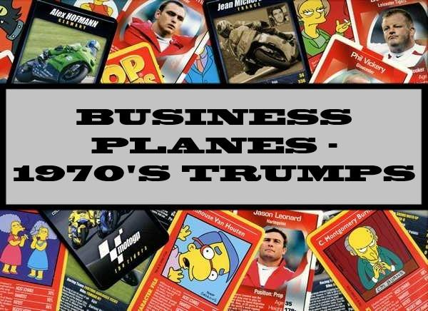 Business Planes - 1970's Ace