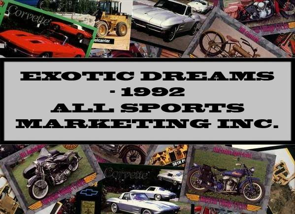 Exotic Dreams - 1992 All Sports Marketing