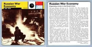 WW2 Edito-Service SA 1977 Card Home Front German War-Economy : I 1939-41