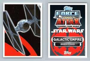 Force Awakens Set 1 #137 Galactic Empire Star Wars Force Attax