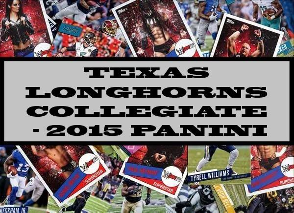 Texas Longhorns Collegiate - 2015 Panini