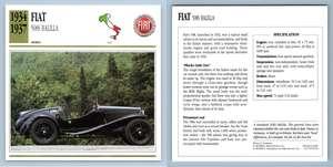 Ulster 1934-36 Sports Collectors Club Card Aston Martin