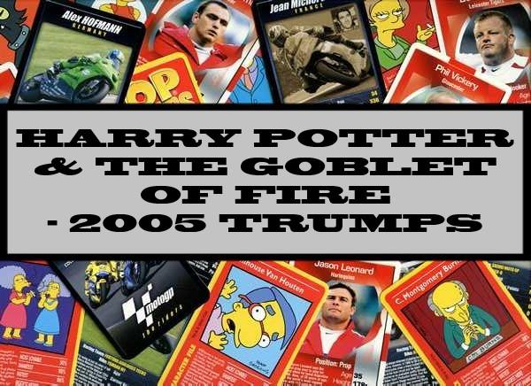 Harry Potter & The Goblet Of Fire - 2005 Winning Moves