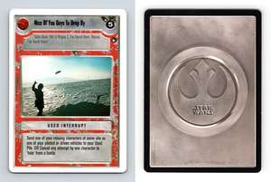 North Ridge Star Wars Hoth Limited 1996 LS Common CCG Card Hoth